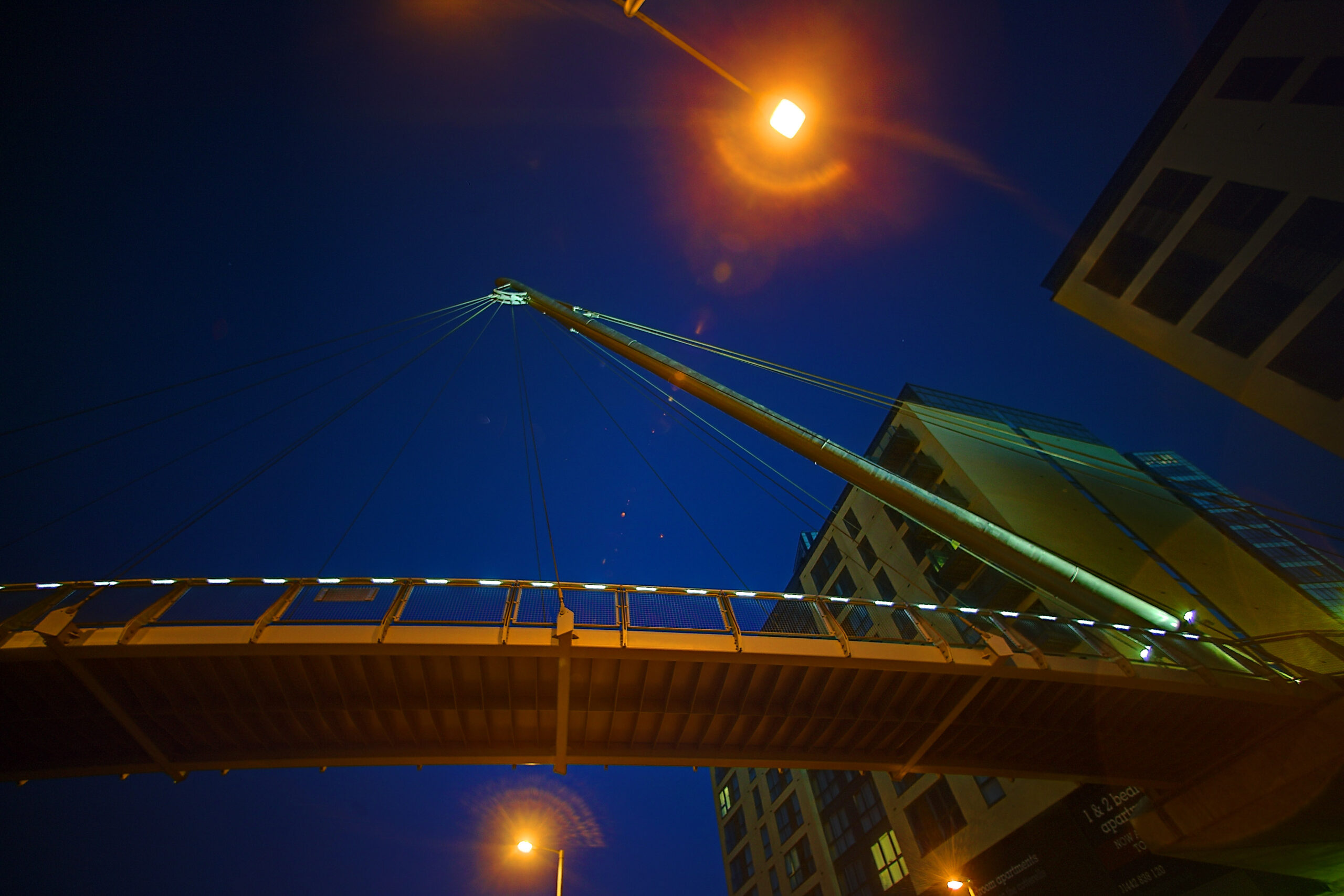 Alfie Morland Bridge - Architectural Lighting for Bridges & Walkways