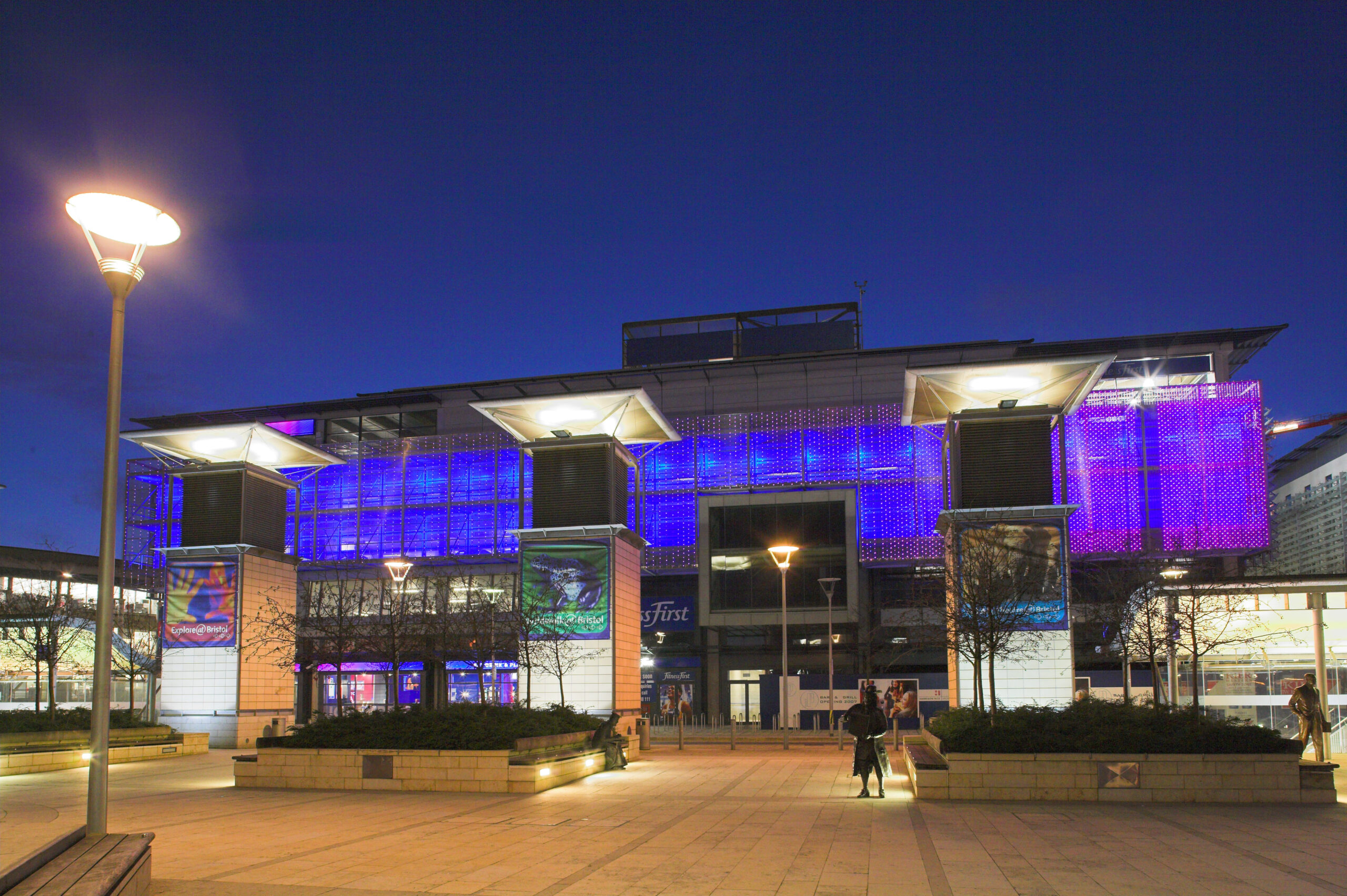 Exterior and Interior Lighting - LTP Integration - Bristol Harbourside