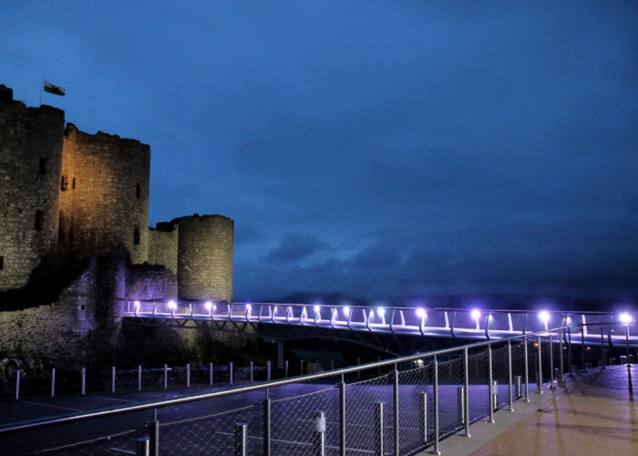 Harlech Castle - Architectural Lighting for Visitor Attractions