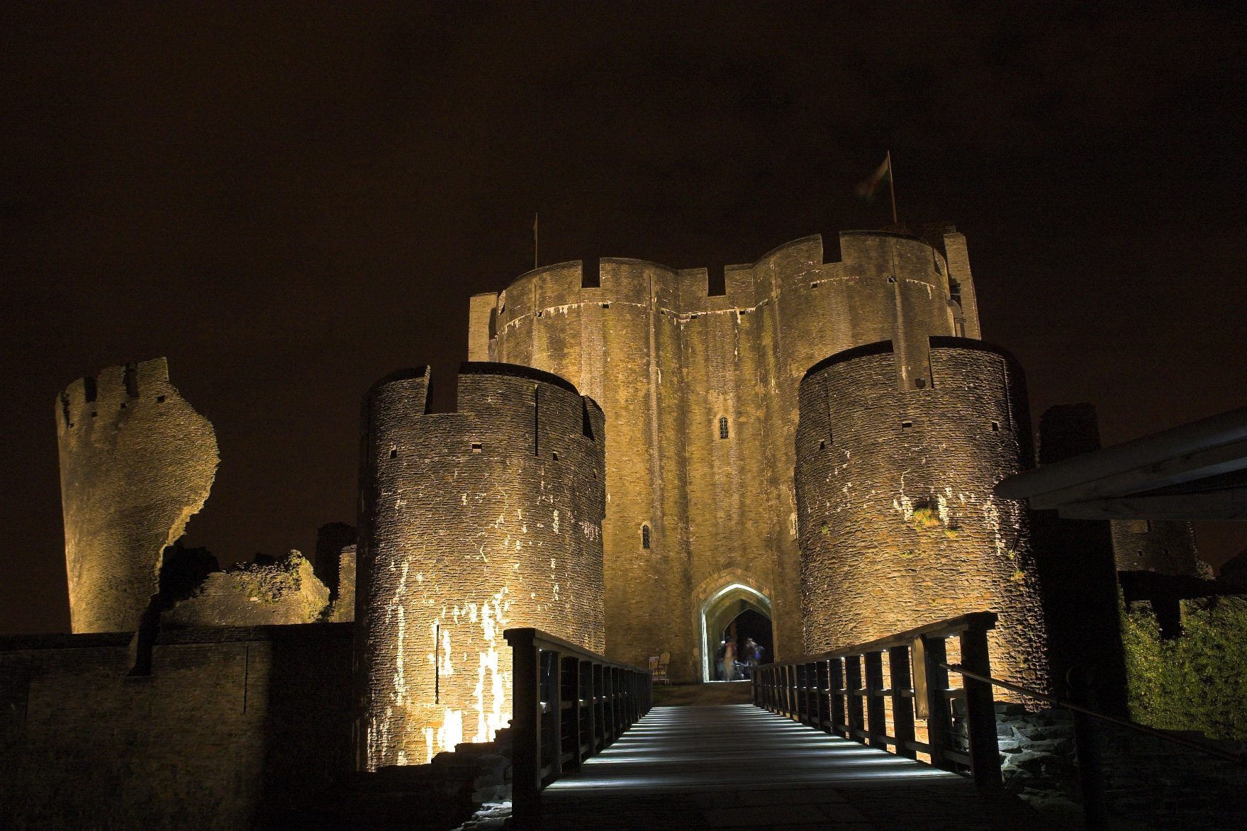 Cadw - Architectural Lighting for Visitor Attractions - LTP Integration