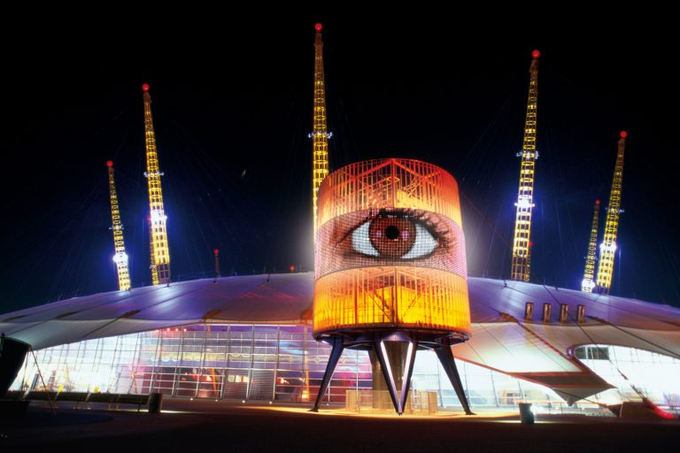 The O2 - Architectural Lighting for Visitor Attractions - LTP Integration