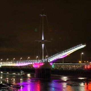 Pont y Ddraig Lighting