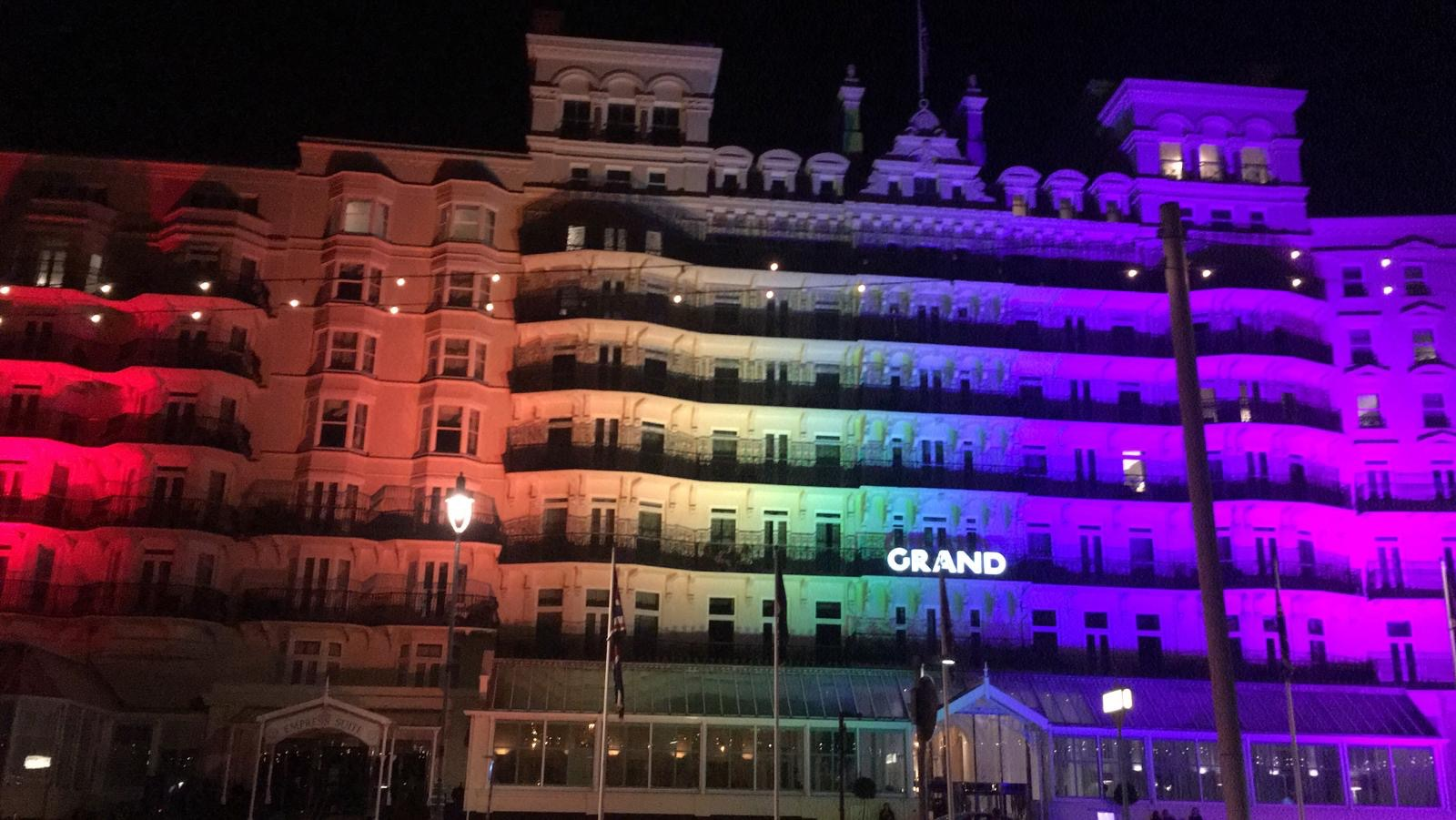 Grand Hotel Brighton Pride - LTP Integration