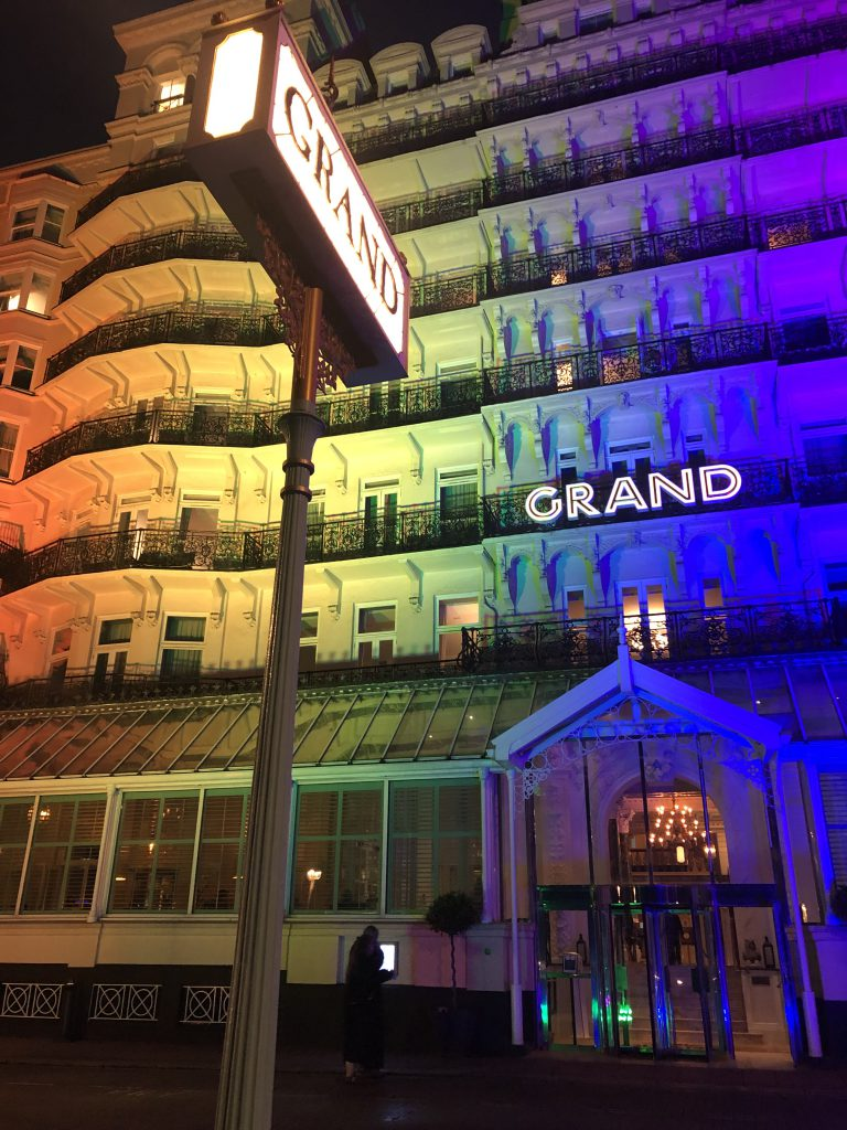 Grand Brighton Hotel - Pride 2021 - LTP Integration
