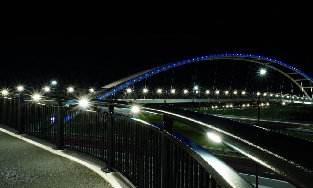 A52 Wyvern Footbridge - Task Lighting - LTP Integration