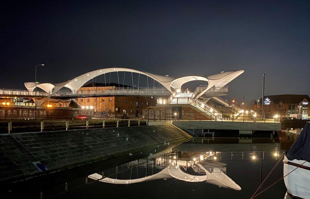 A63 Princes Quay Bridge / Murdoch's Connection - Completion - LTP Integration