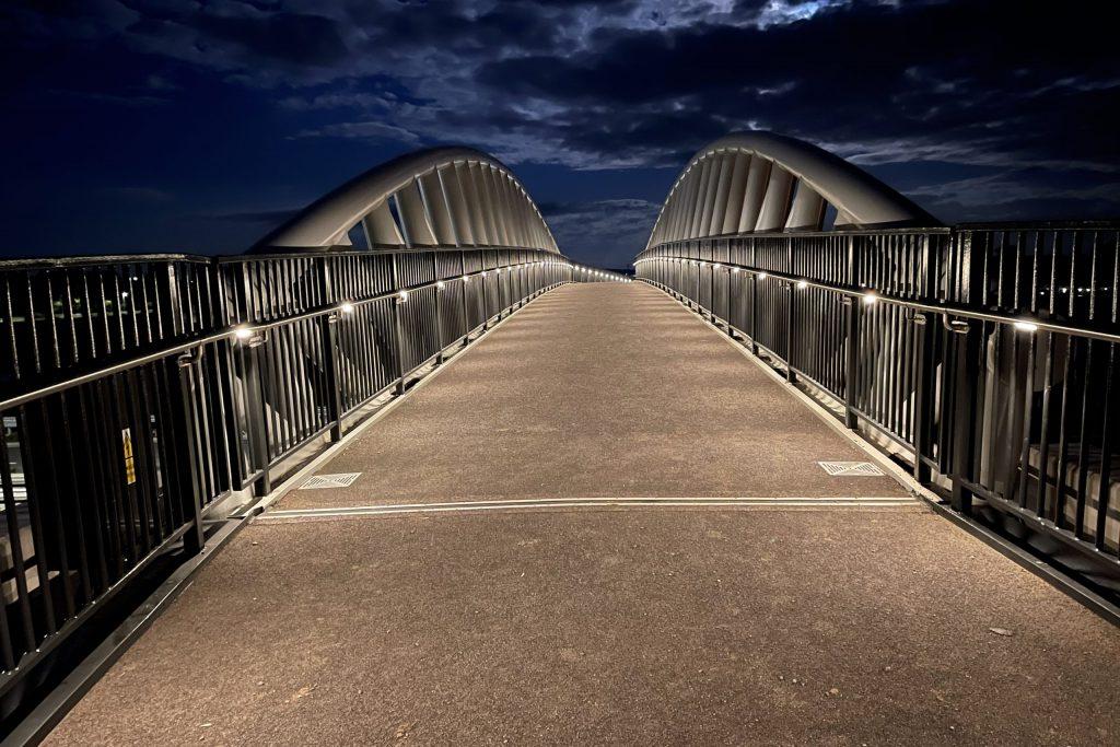 Broomhall Way Footbridge, Worcester - LTP Integration